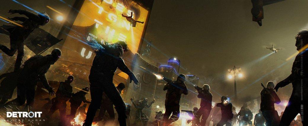 Взгляните наконцепт-арты Detroit: Become Human иузнайте, как художники игры видят наше будущее   Канобу - Изображение 6540