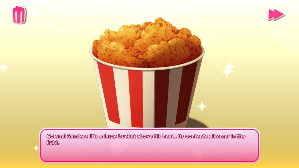 «Любишь курочку?»: отзывы вSteam активно нахваливают симулятор свиданий про KFC   Канобу - Изображение 3318