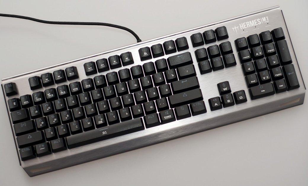 Обзор клавиатуры Gamdias Hermes M1: недорогая механика сподсветкой | Канобу - Изображение 1