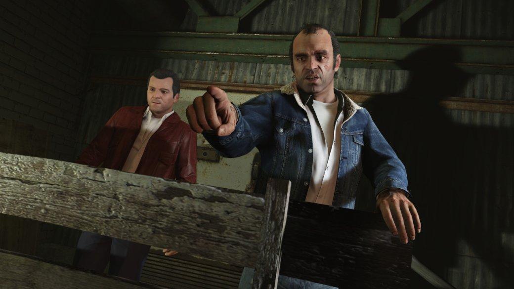 Гифка дня: трехочковое попадание вGrand Theft Auto5. - Изображение 1