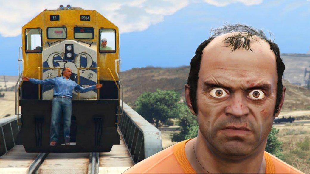 Гифка дня: мгновенная карма вGrand Theft Auto5 | Канобу - Изображение 0