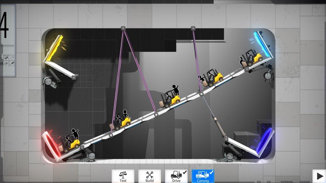 Рецензия на Bridge Constructor Portal. Обзор игры - Изображение 5