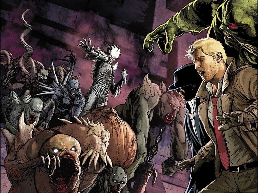 Обзор сценария «Темной Лиги справедливости» Гильермо Дель Торо. Константин и немного хорошего экшена | Канобу - Изображение 3564