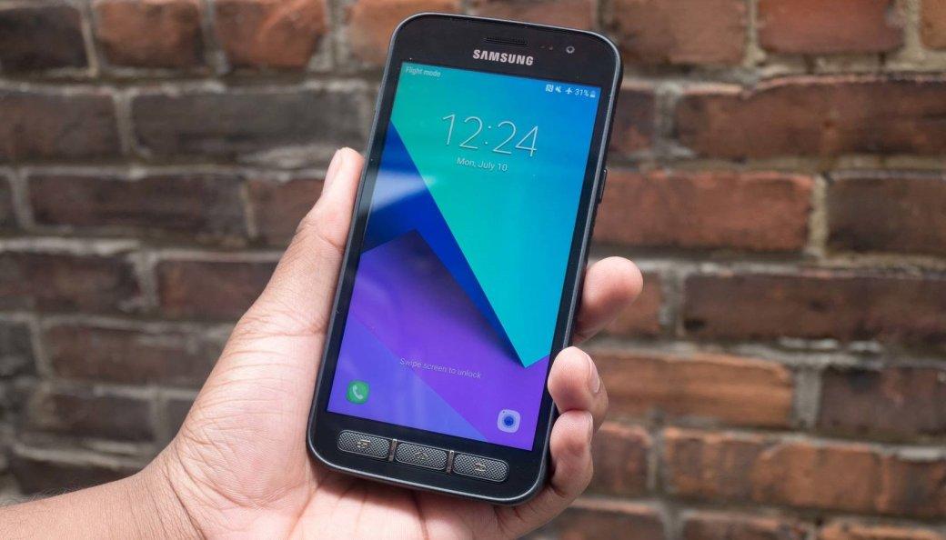 Смартфон Samsung Galaxy Xcover 4sпредставили официально: некрасивый, нозащищенный  | Канобу - Изображение 0