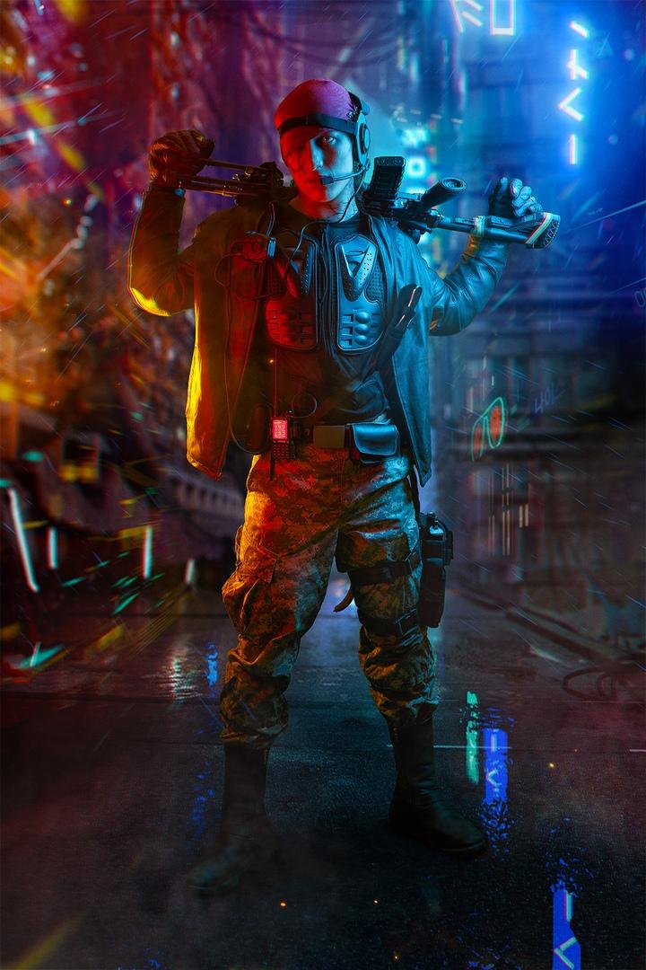 Какбы выглядели Геральт, Йорвет, Шани, Йеннифэр иБьянка вмире Cyberpunk 2077? | Канобу - Изображение 3