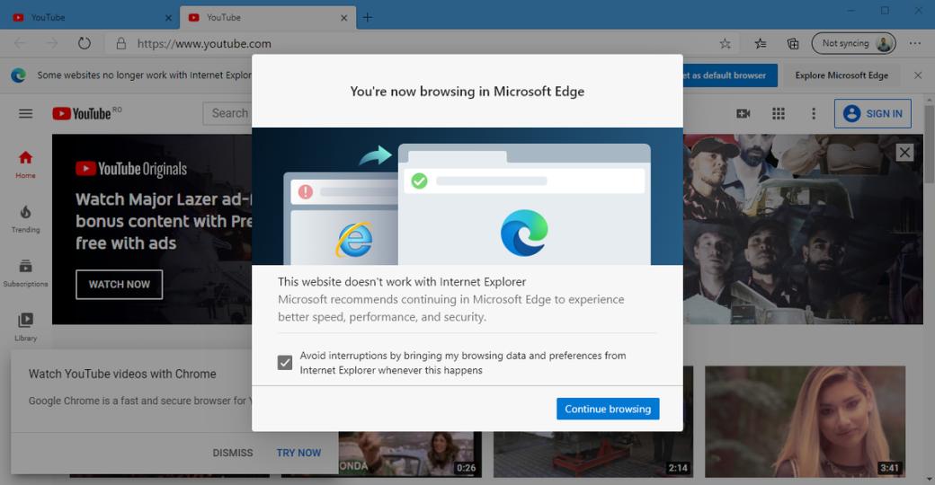В ноябре Internet Explorer перестанет открывать более тысячи сайтов, включая VK, Facebook, YouTube | Канобу - Изображение 1605