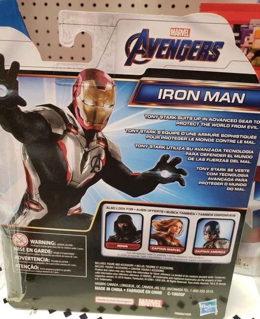 Фигурки по«Мстителям: Финал» позволяют полюбоваться Ронином, Капитан Марвел идругими супергероями | Канобу - Изображение 8