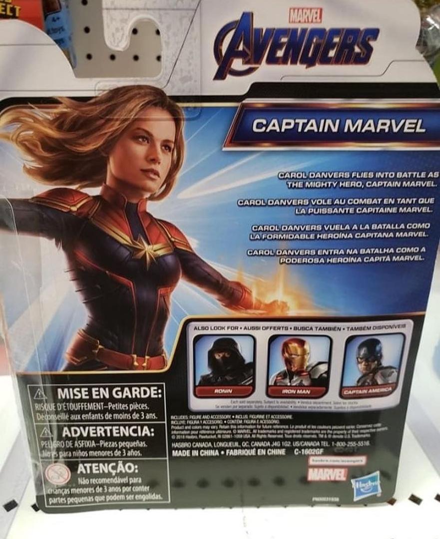 Фигурки по«Мстителям: Финал» позволяют полюбоваться Ронином, Капитан Марвел идругими супергероями | Канобу - Изображение 7