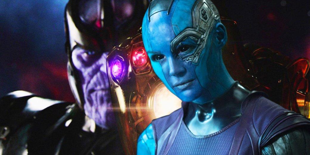Новое фото сосъемок фильма «Мстители 4» показывает стильную Небулу. - Изображение 1