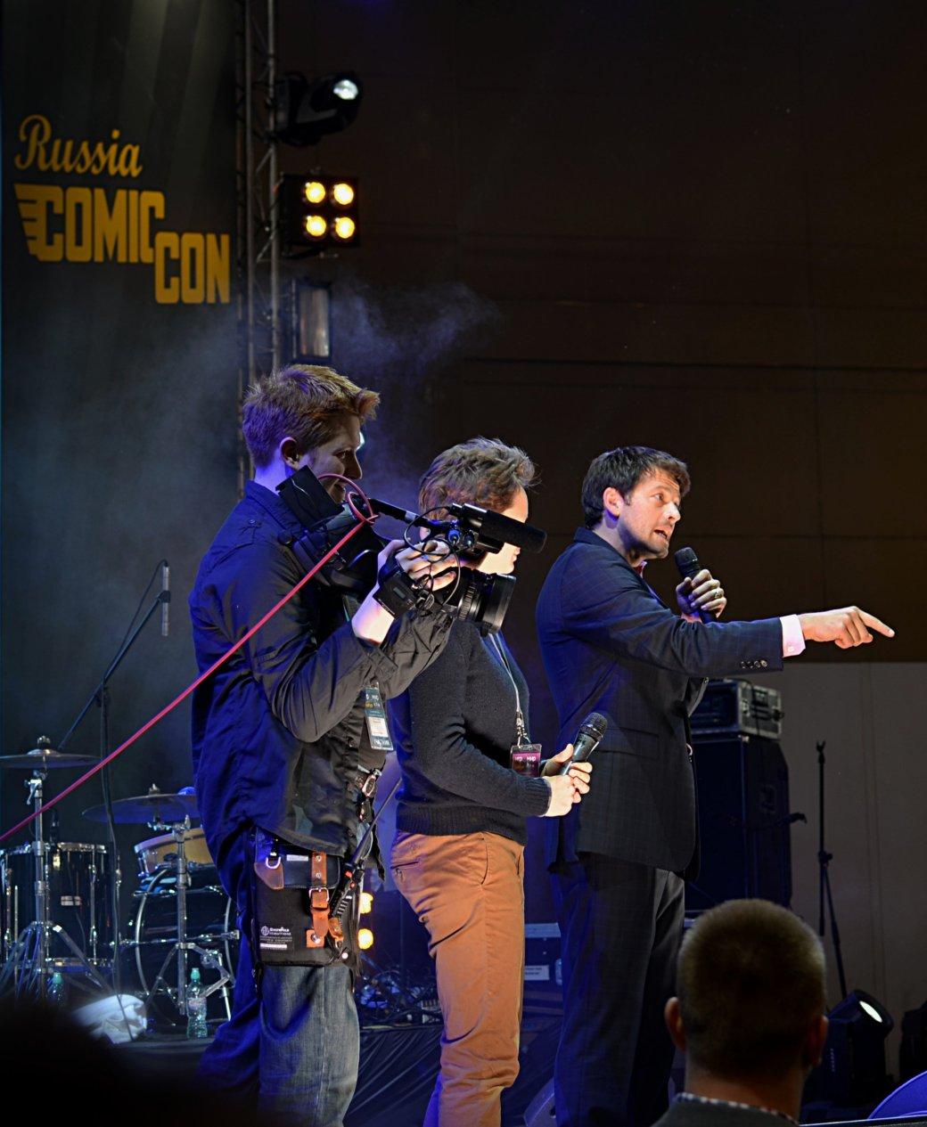 Фотоотчет с «Игромира» и Comic Con Russia, день 3 – Миша Коллинз | Канобу - Изображение 28
