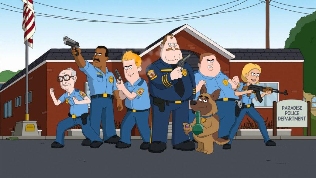 Первые впечатления отанимационного сериала «Полиция Парадайз» | Канобу