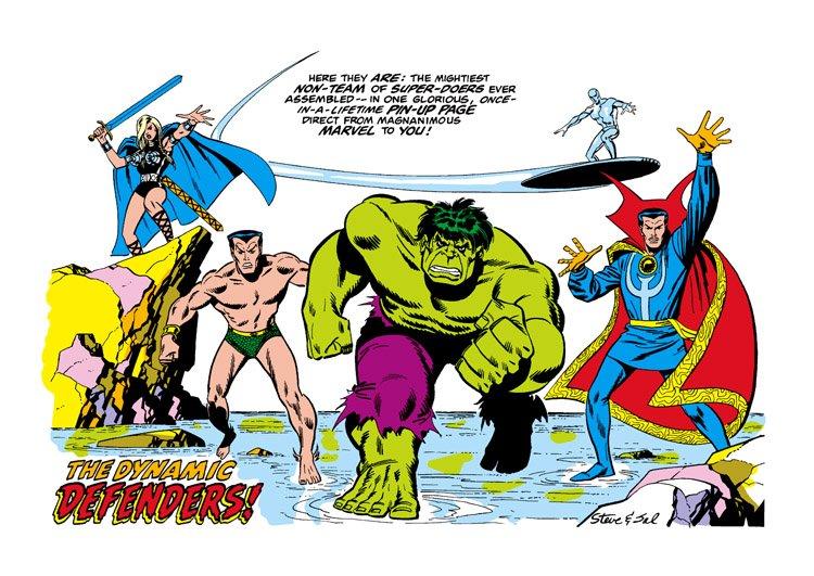 Издательство Marvel вернет оригинальных Защитников— сХалком, Доктором Стрэнджем иСерфером | Канобу - Изображение 5200