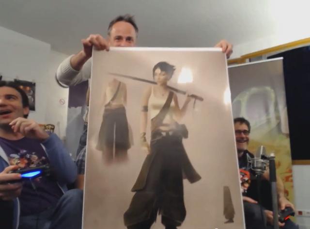 Джейд позирует с катаной на концепт-арте Beyond Good & Evil 2    Канобу - Изображение 536