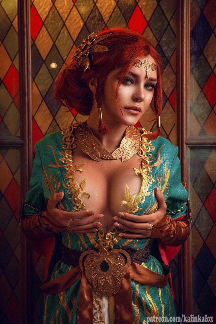 Соблазнительная иочаровательная Трисс Меригольд вновом косплее «Ведьмака» | Канобу - Изображение 1421