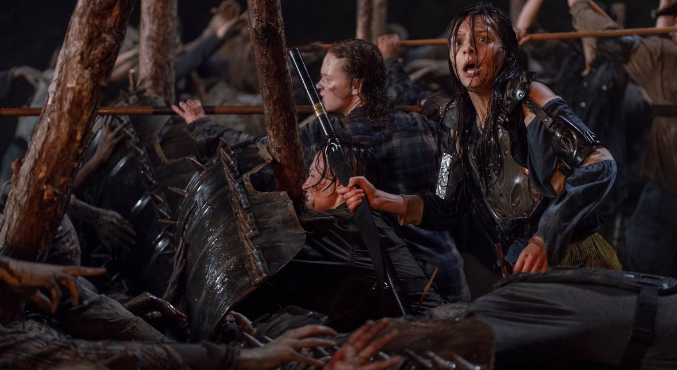 Что показали в12 серии 10 сезона «Ходячих мертвецов». Смерть злодея иХиллтоп вогне   Канобу