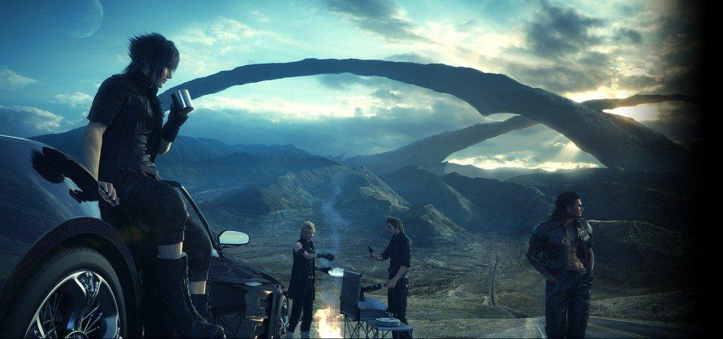 Зачем Final Fantasy XV нужны аниме, две демки и Джесси Пинкман | Канобу