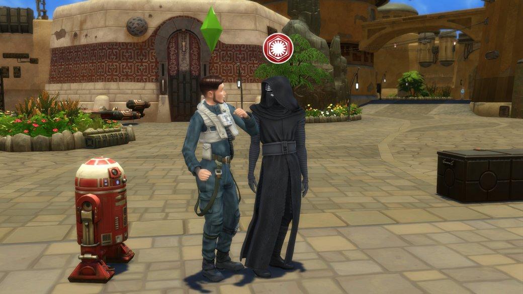 Изсима вгероя «Звездных войн». Как преобразиться в«The Sims 4: Путешествие наБатуу»? | Канобу - Изображение 455