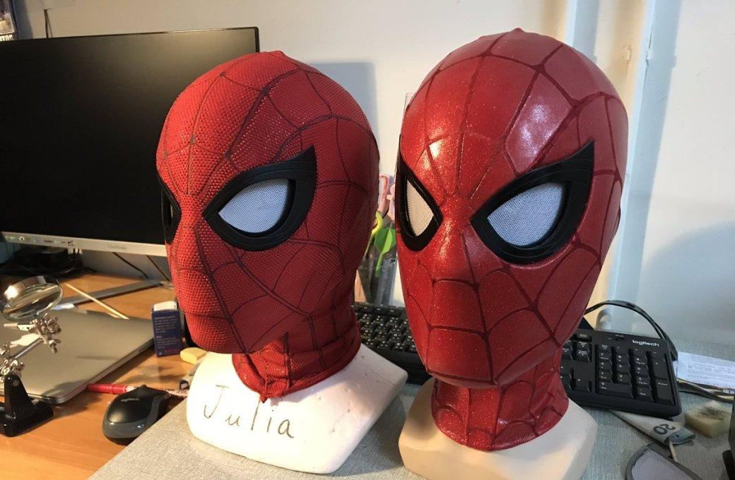 Косплеер сделал реалистичную маску Человека-паука. Сподвижными линзами изфильма! [обновлено] | Канобу - Изображение 2112