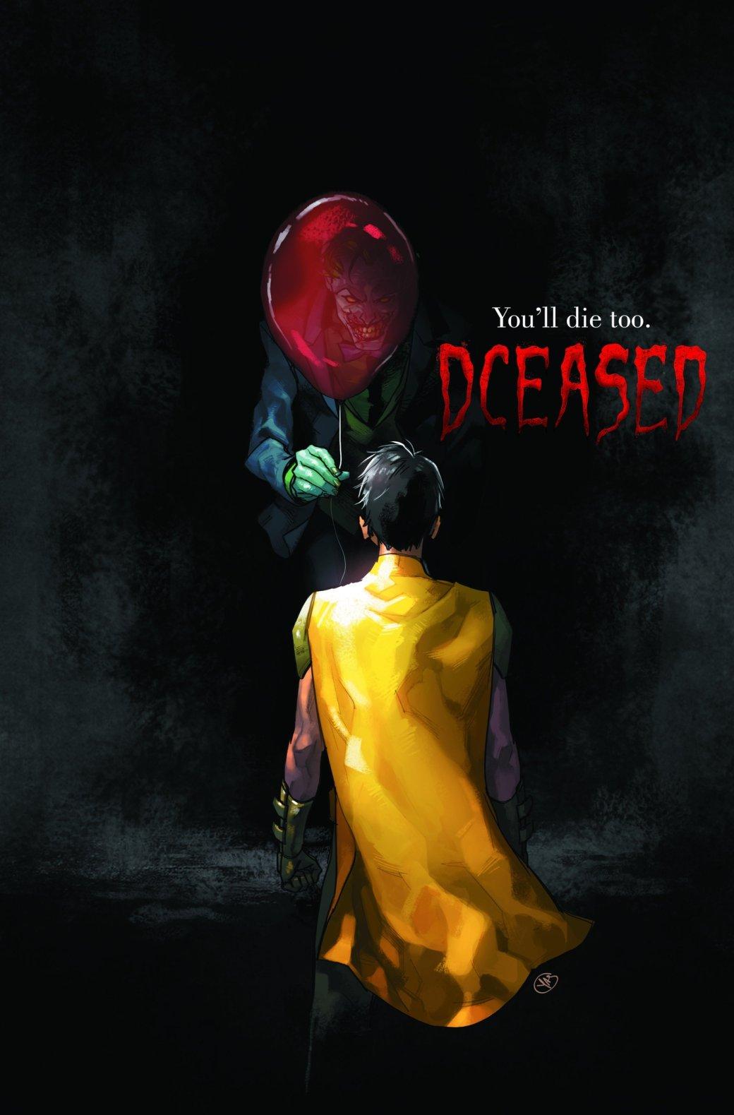 #DCEASED. Что будет, если супергерои DCстолкнутся сзомби-эпидемией? | Канобу - Изображение 5418