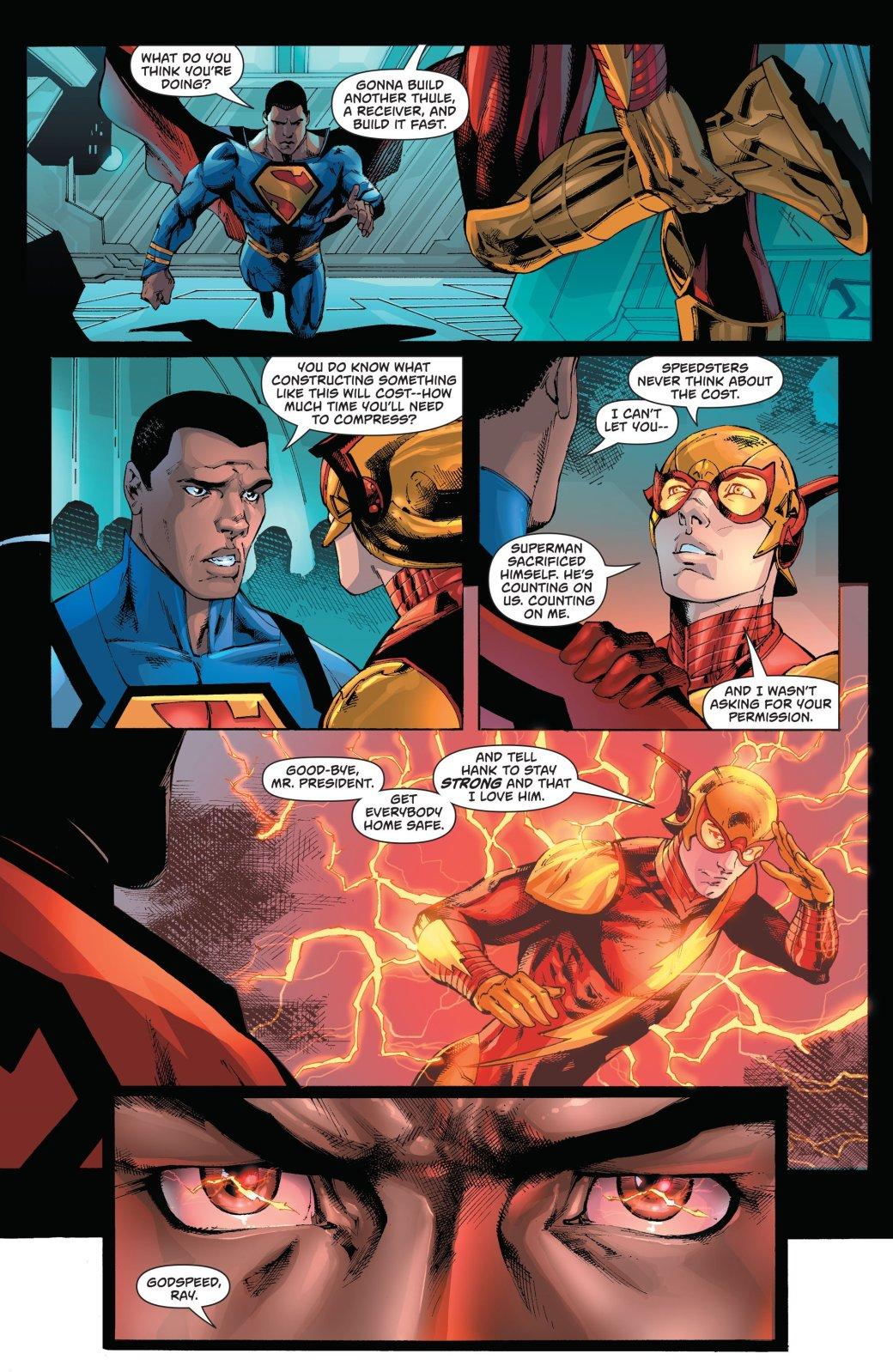 Совместное приключение Суперменов из разных вселенных подошло к концу | Канобу - Изображение 1